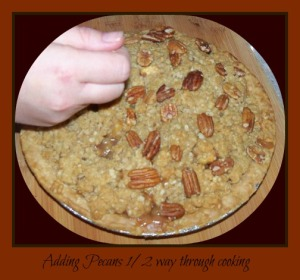 caramel apple pecan pie1